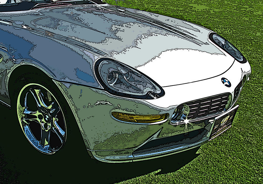 Bmw Z8 Nose Study Photograph