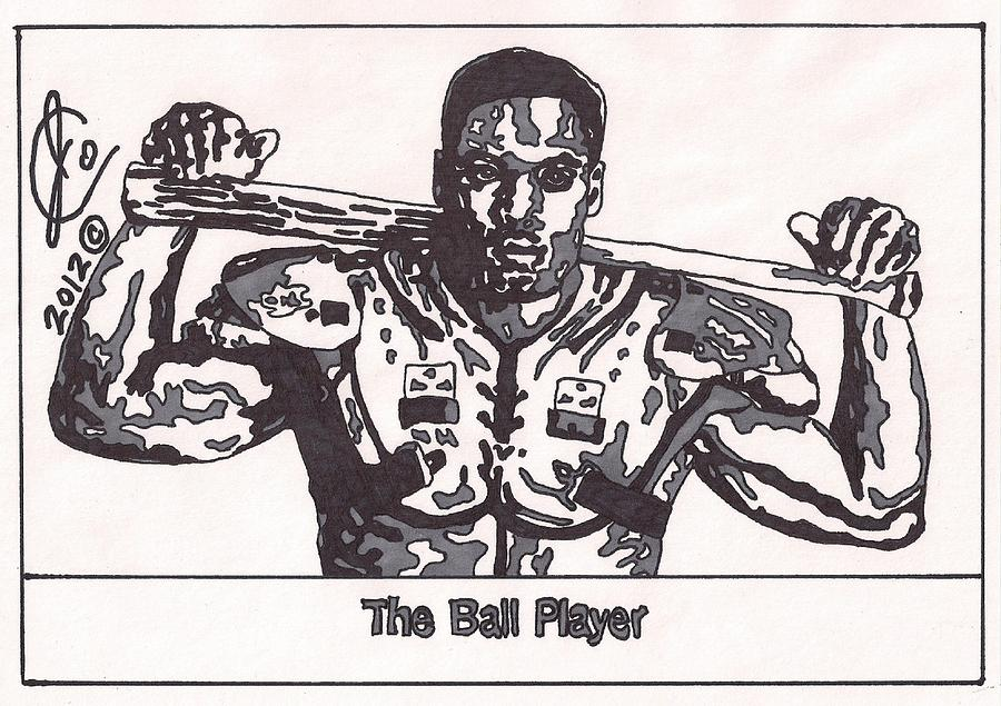 Bo Jackson 2 Drawing