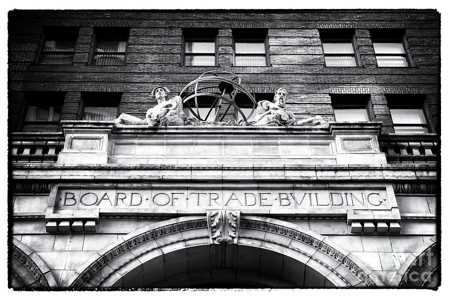 Board Of Trade Building Photograph - Board Of Trade Building by John Rizzuto