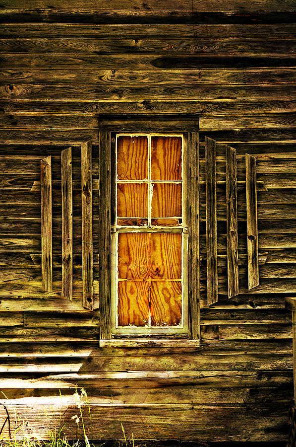 Boarded Window Photograph  - Boarded Window Fine Art Print