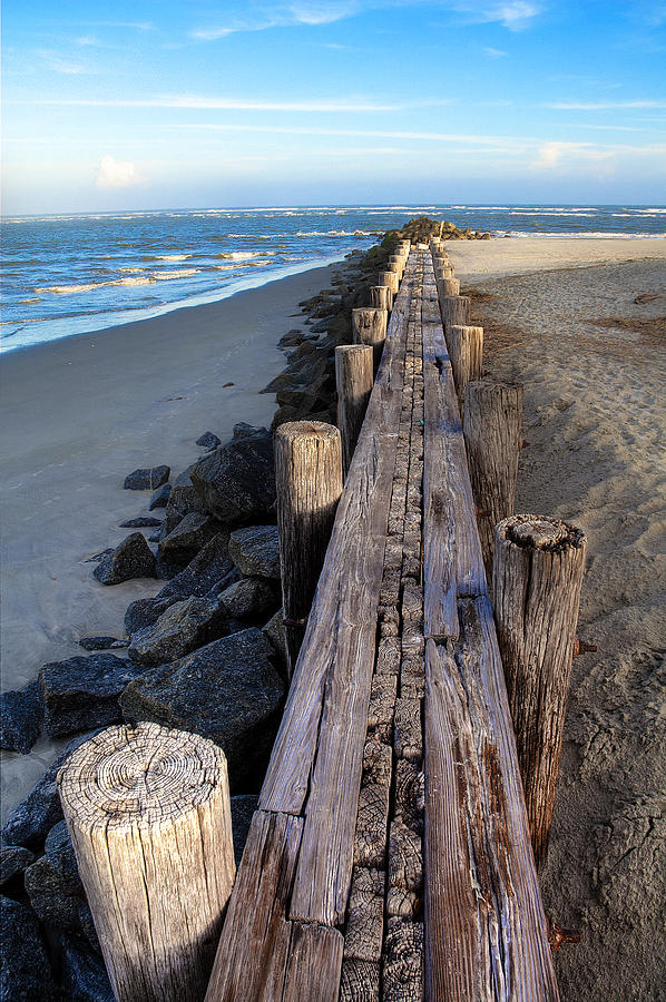Boardwalk - Charleston Sc Photograph