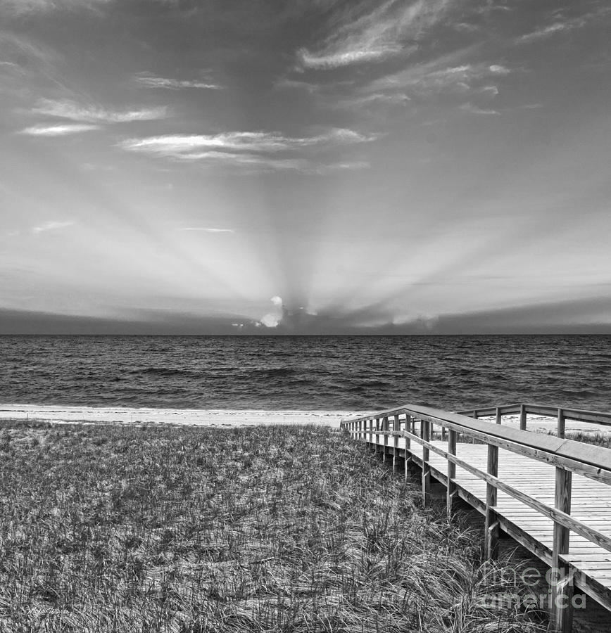 Boardwalk To The Sea Photograph  - Boardwalk To The Sea Fine Art Print