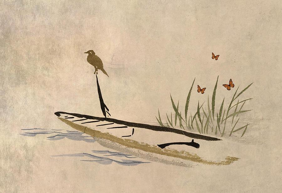 Boat Digital Art - Boat by Aged Pixel