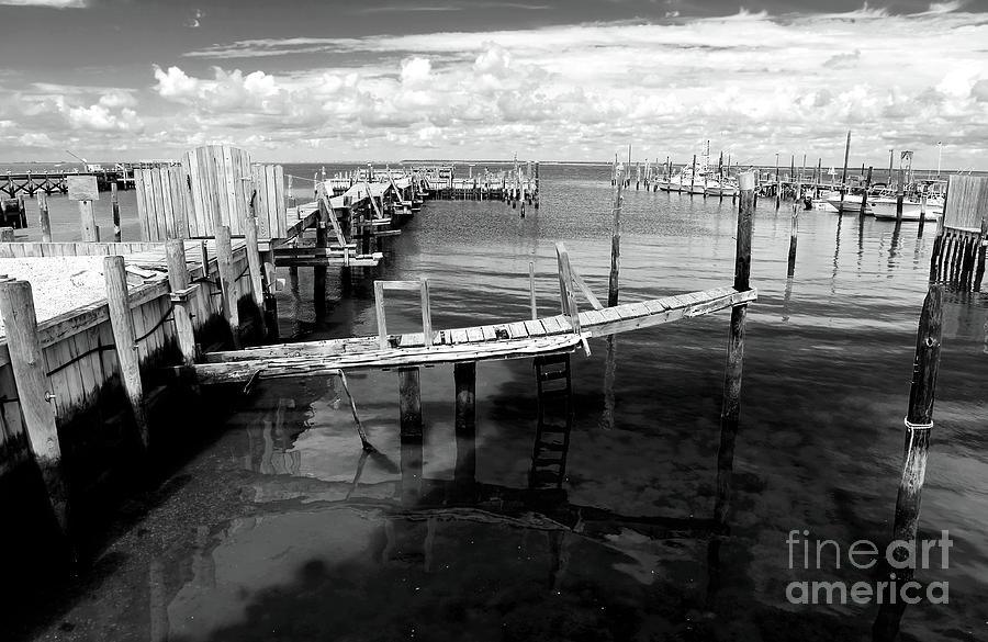 Boat Dock Photograph  - Boat Dock Fine Art Print