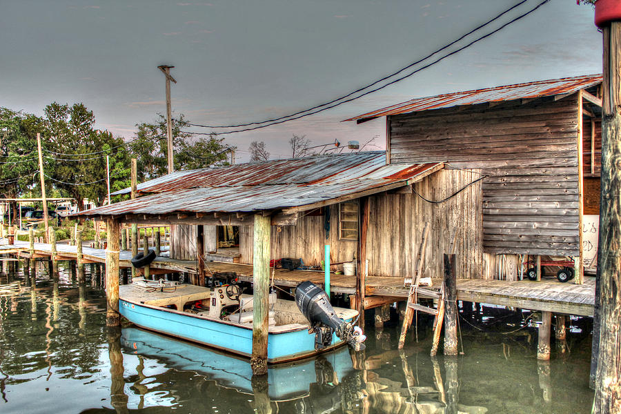 Boat House At Nelsons Photograph
