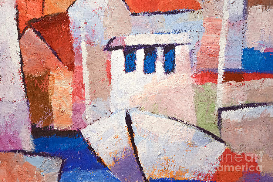 Boat Impasto Painting