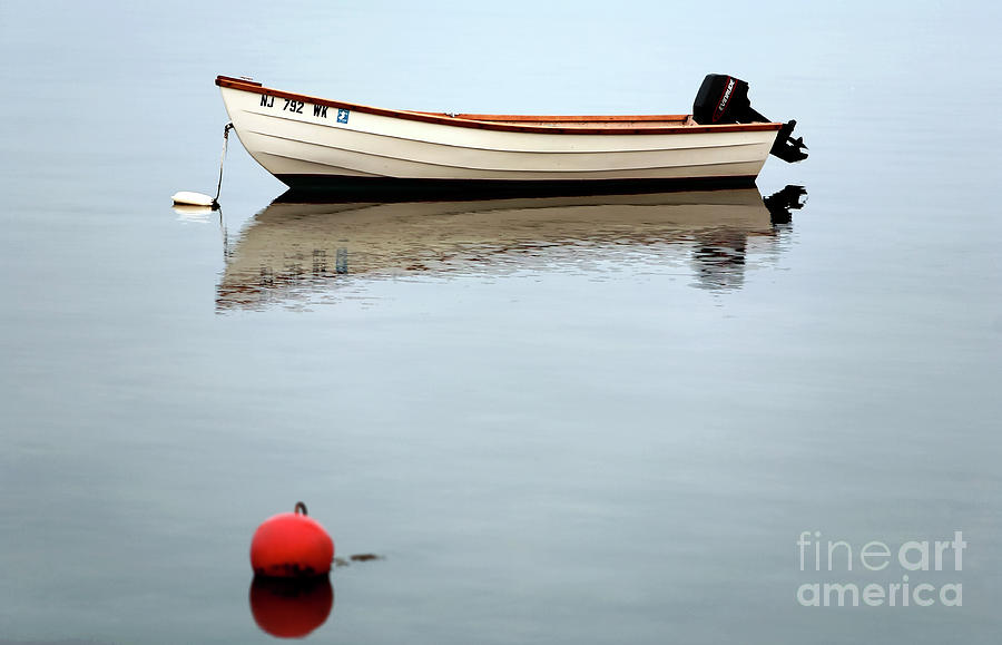 Boat In The Bay Photograph  - Boat In The Bay Fine Art Print