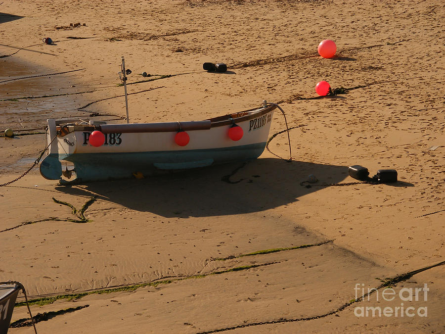 Boat On Beach 04 Photograph  - Boat On Beach 04 Fine Art Print