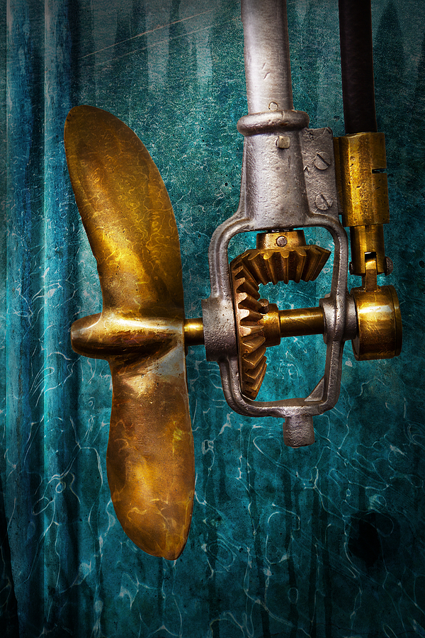 Boat - Propulsion  Photograph  - Boat - Propulsion  Fine Art Print