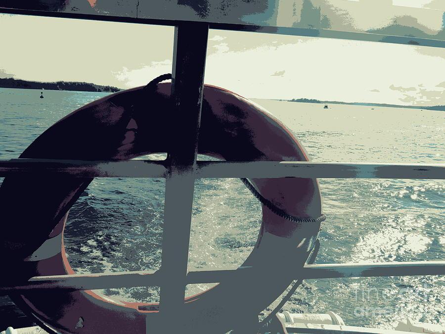 Boat Ride Photograph