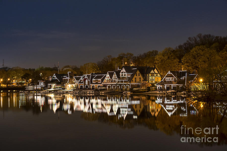 Boathouse Row Photograph