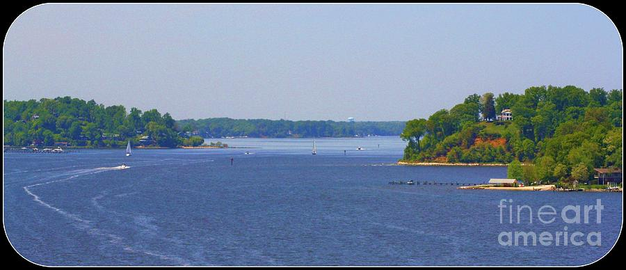 Boating On The Severn River Photograph