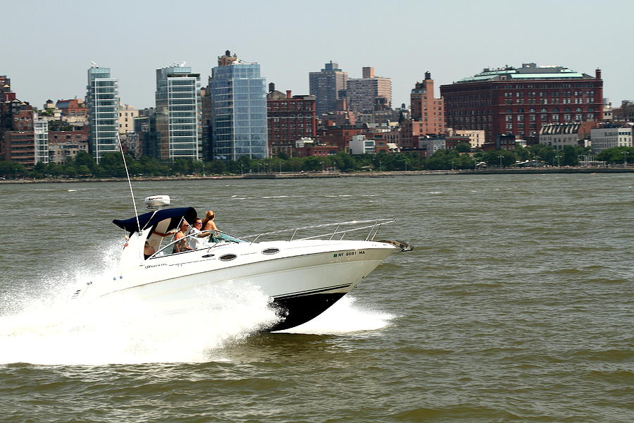 Boats And Ships On The Hudson 16 Photograph