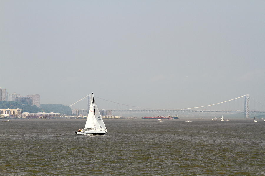 Boats And Ships On The Hudson 26 Photograph