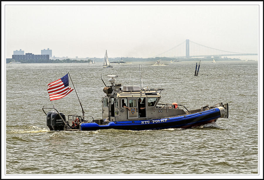 boats and ships on the Hudson 4 Photograph