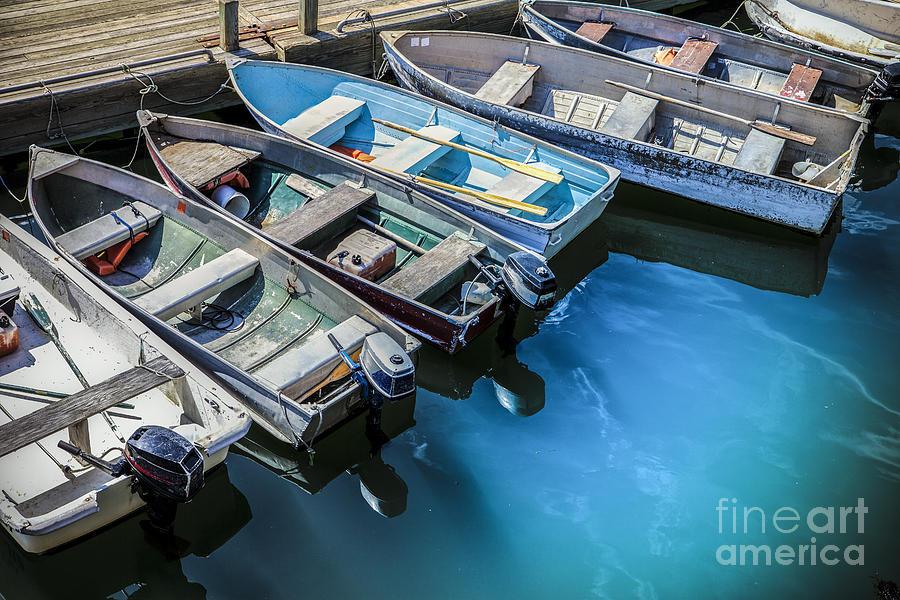 Boats At Bar Harbor Maine Photograph
