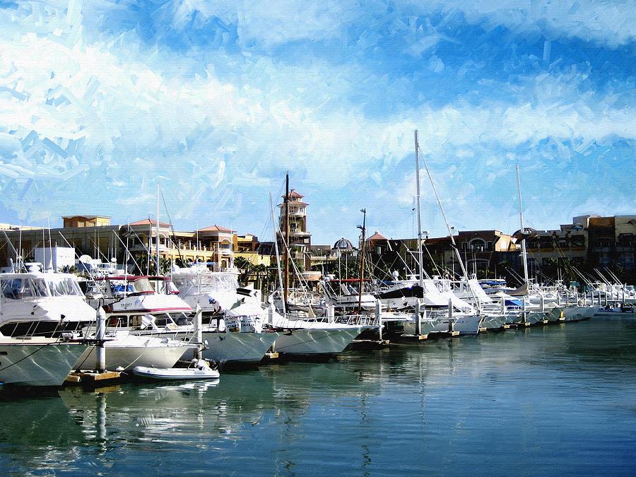 Boats Cabo San Lucas Photograph