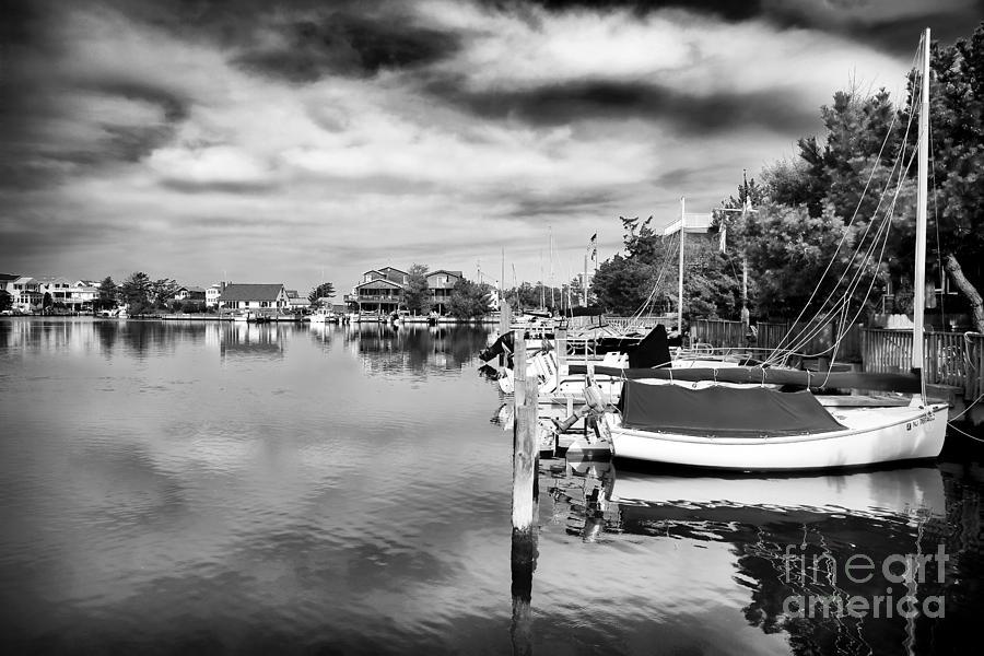 Boats Of Long Beach Island Photograph