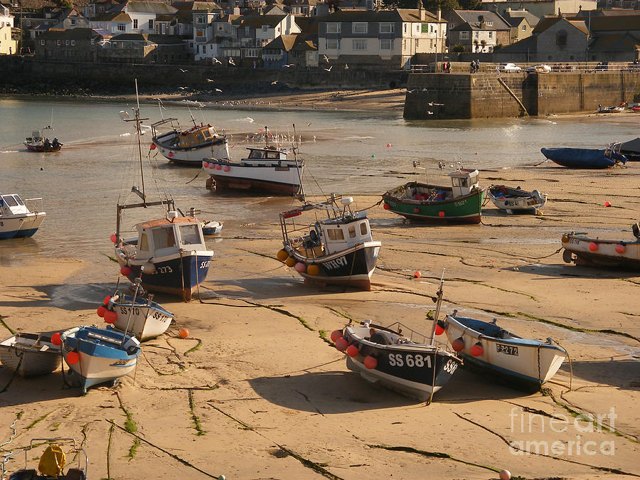 Boat Photograph - Boats On Beach 03 by Pixel Chimp
