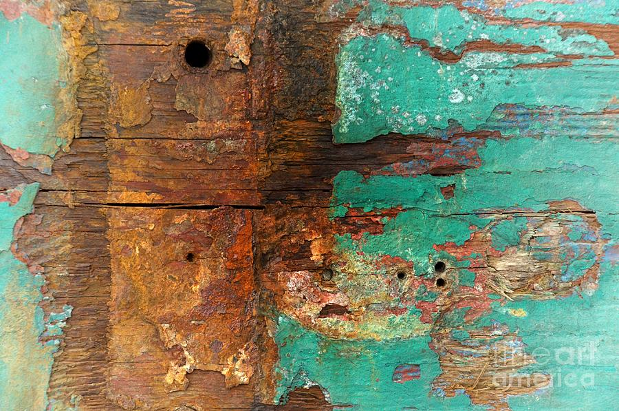 Boatyard Abstract 6 Photograph