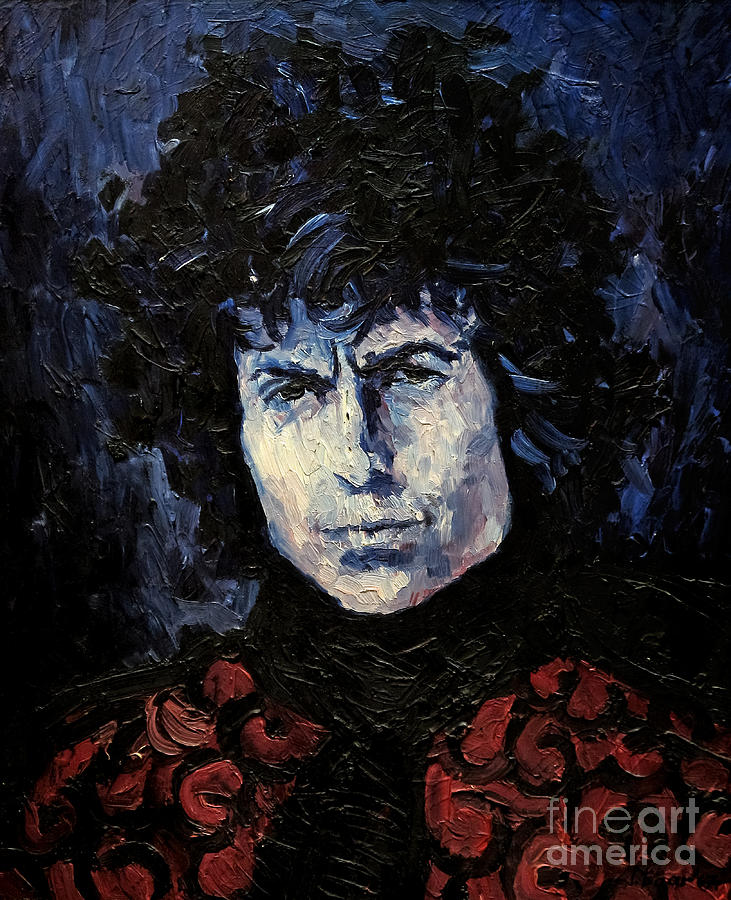Bob Dylan 1967 Painting