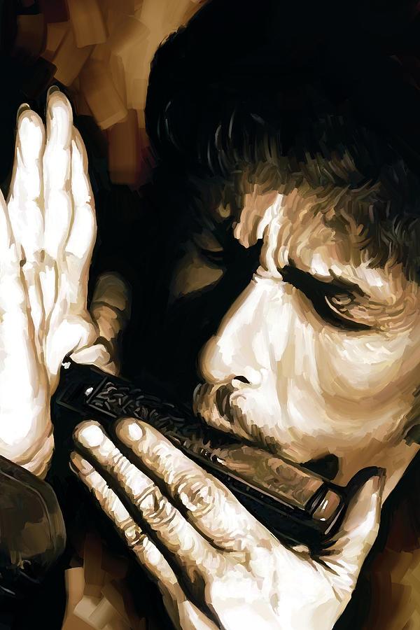 Bob Dylan Artwork 2 Painting