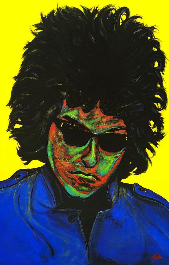 Bob Dylan Paintings Painting - Bob Dylan by Edward Pebworth