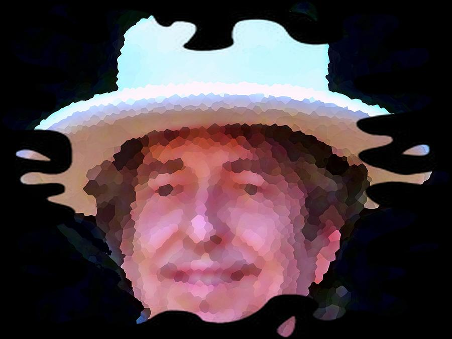 Bob Dylan II Wall Art Music Design Digital Art  - Bob Dylan II Wall Art Music Design Fine Art Print