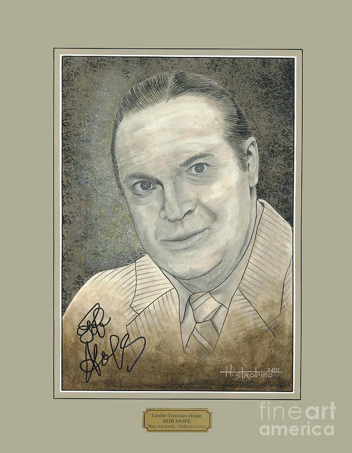 Bob Hope Portrait Painting