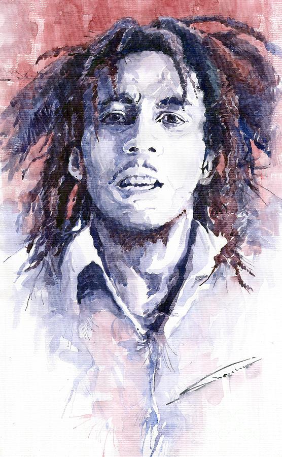 Bob Marley 3 Painting
