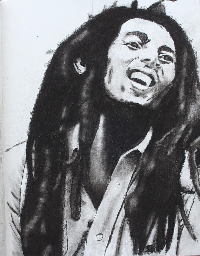 Bob Marley Drawing