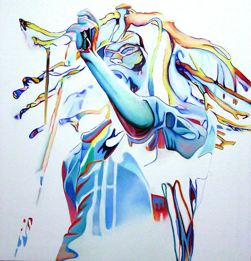 Bob Marley Colorful Painting