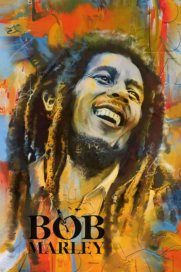 Bob Marley Painting - Bob Marley by Corporate Art Task Force