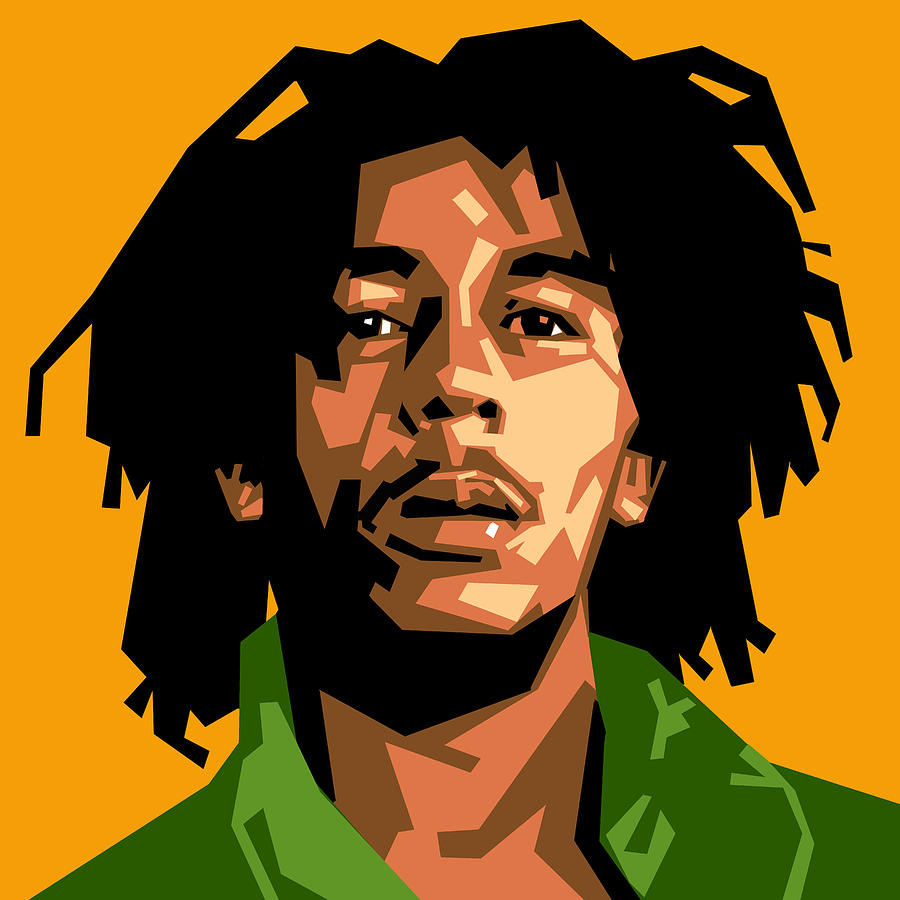 Bob Marley Digital Art