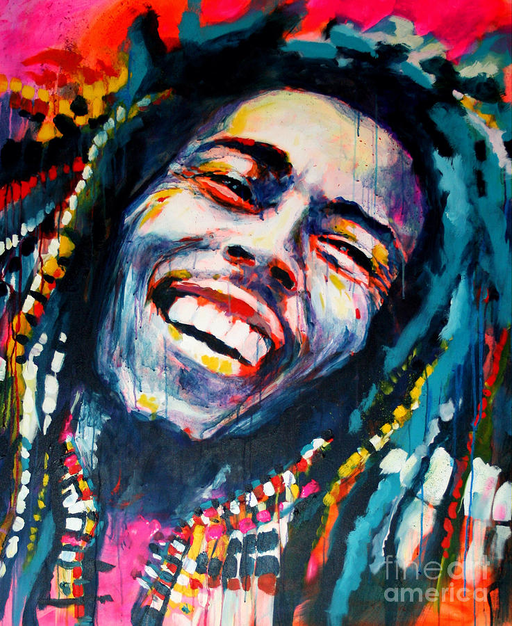 Bob Marley One Love by Marta Zawadzka: fineartamerica.com/featured/bob-marley-one-love-marta-zawadzka.html