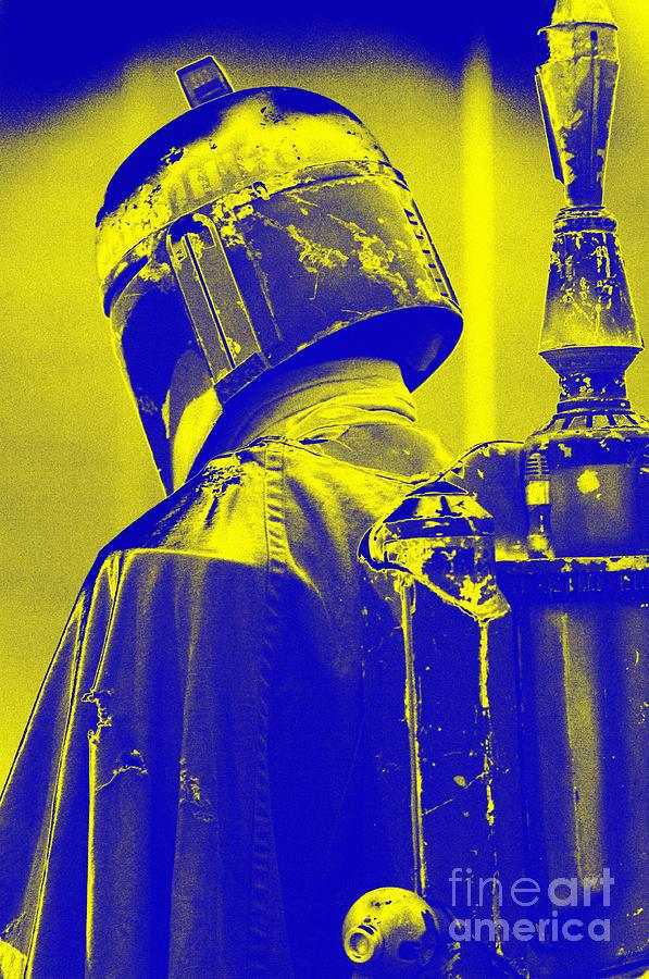 Boba Photograph - Boba Fett Costume 1 by Micah May