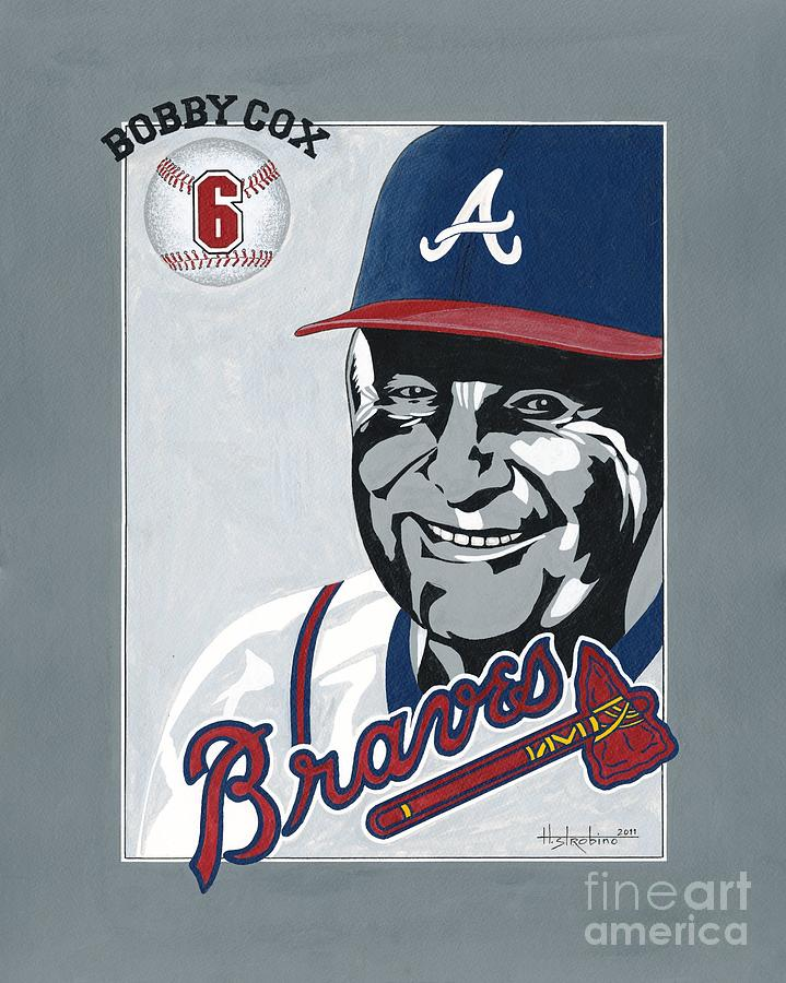 Bobby Cox Portrait Painting