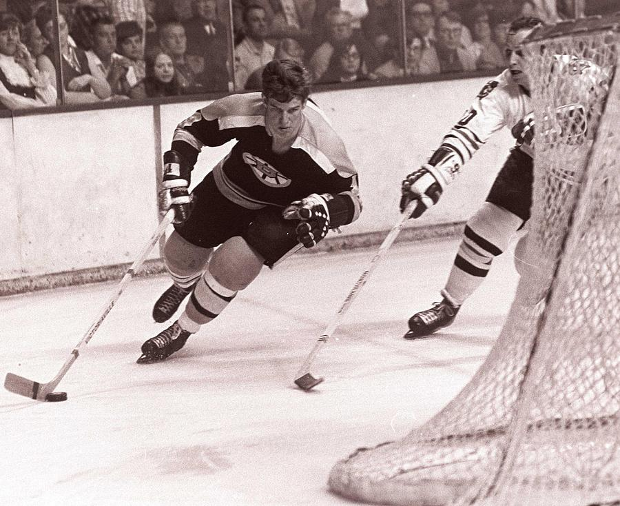 Bobby Orr Hockey Legend Photograph