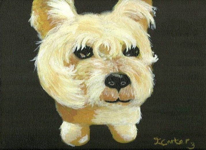 Bobby The Westie Painting