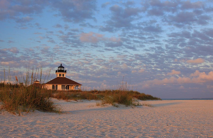 Boca grande lighthouse sunset photograph by shari jardina for Jardina