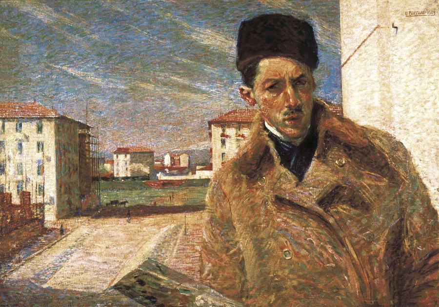 Boccioni, Umberto 1882-1916 Photograph