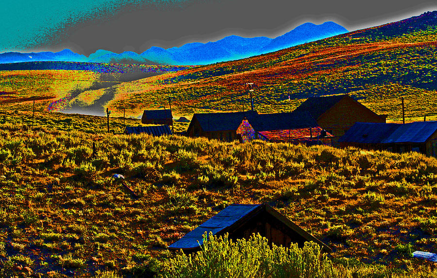 Bodie Sunset Photograph  - Bodie Sunset Fine Art Print