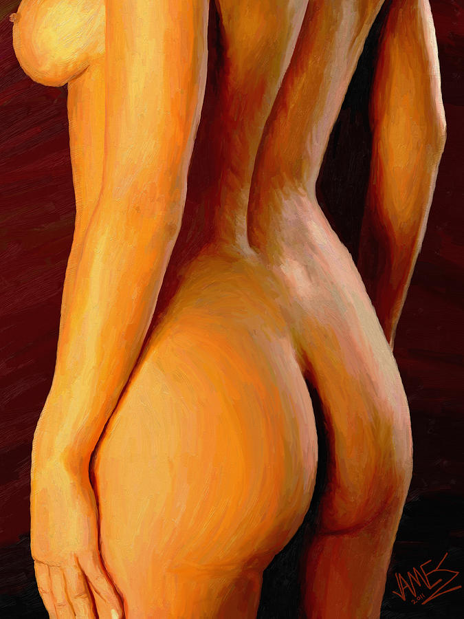 Bodyscape 15 Painting