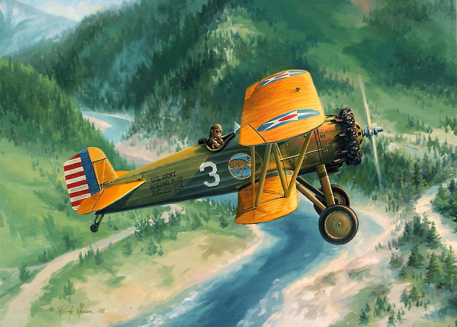 Boeing Country Painting