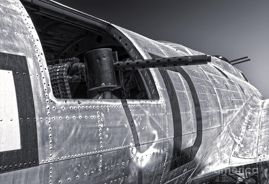 Boeing Flying Fortress B-17g  -  07 Photograph