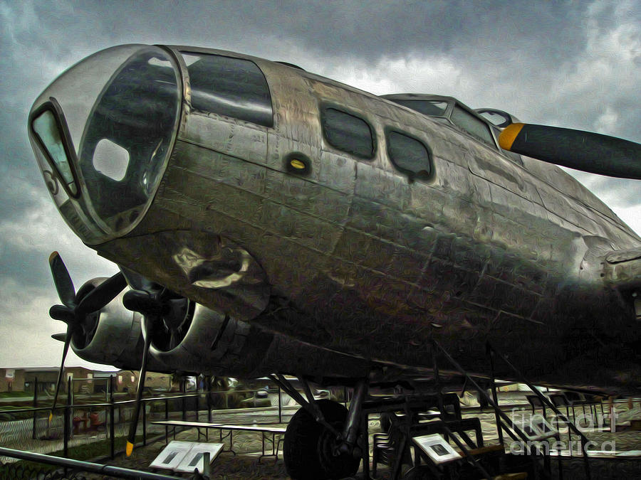 Boeing Flying Fortress B-17g  -  03 Painting