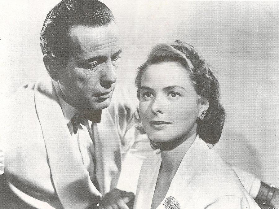 Bogart And Bergman Digital Art