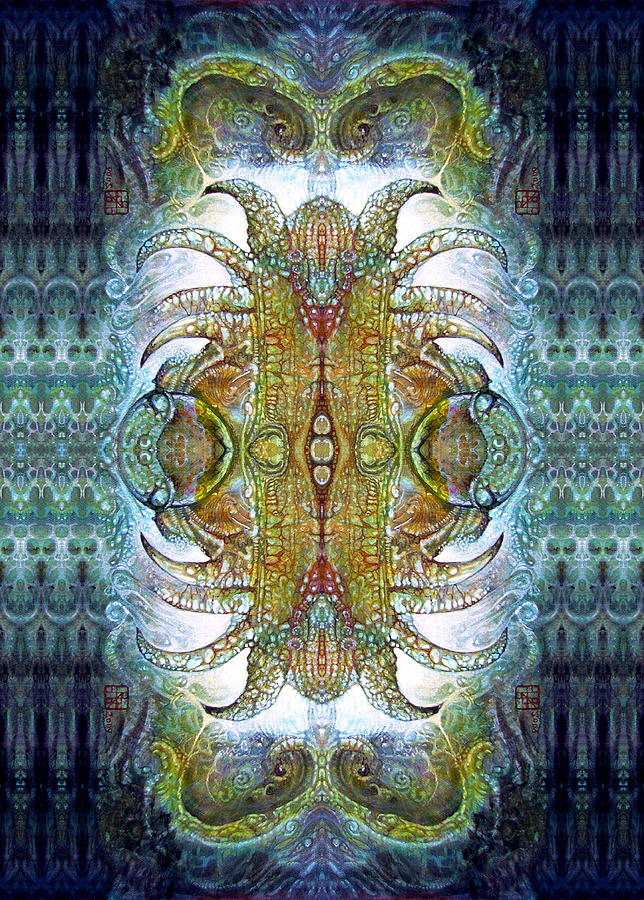 Bogomil Variation 14 - Otto Rapp And Michael Wolik Digital Art