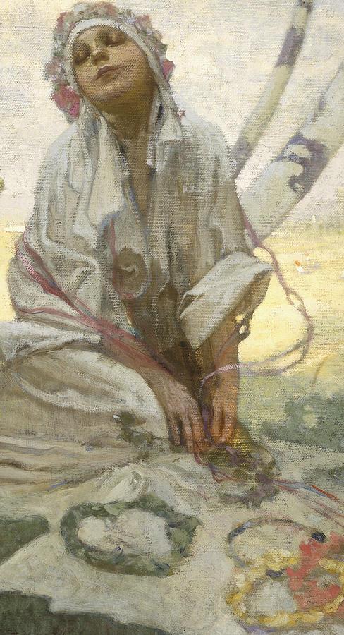 Bohemian Sun Dreamer Painting