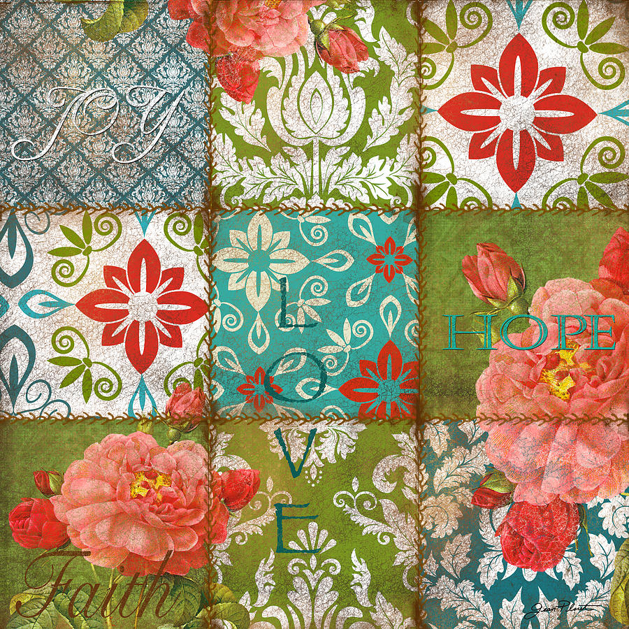 Boho Patchwork A By Jean Plout